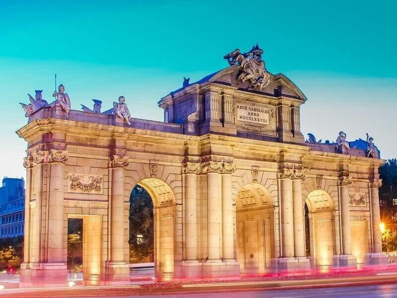 Puerta alcala, madrid